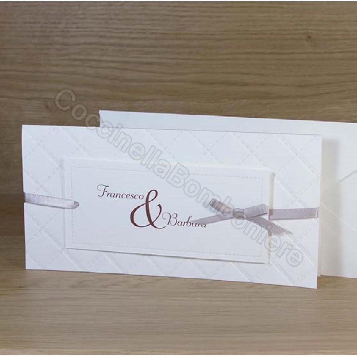 Matrimonio Tema Origami : Partecipazione matrimonio koman mouldings